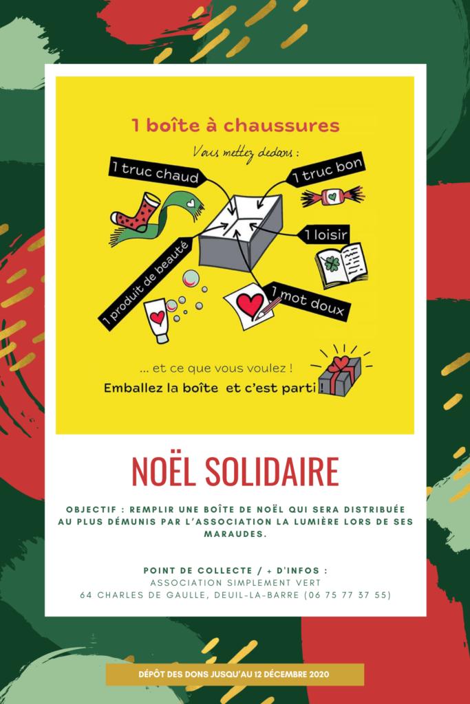 Évènement Simplement Vert - Noël Solidaire